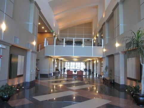 Inside Building